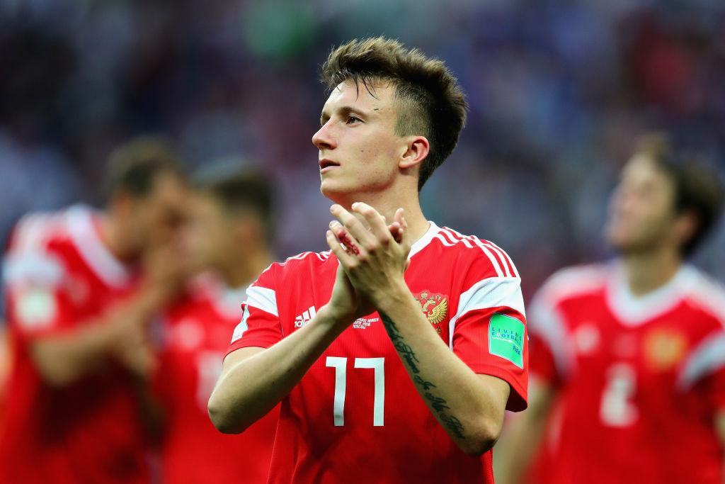 Jose Mourinho praises Aleksandr Golovin after dominant World Cup display for Russia