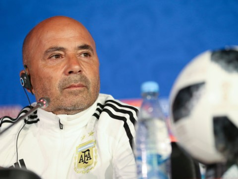 Argentina boss Jorge Sampaoli names starting XI for World Cup opener against Iceland
