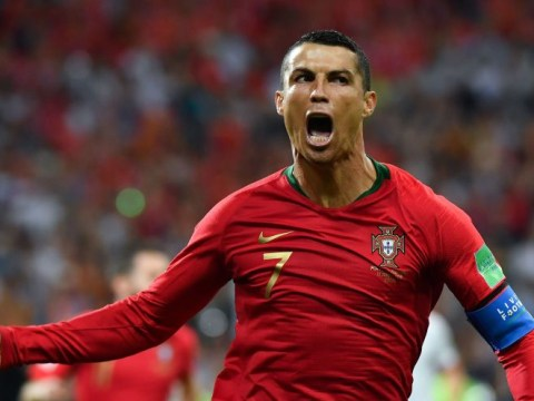 Cristiano Ronaldo joins historic club with World Cup goal against Spain