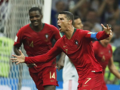 Cristiano Ronaldo hat-trick thwarts managerless Spain in World Cup thriller