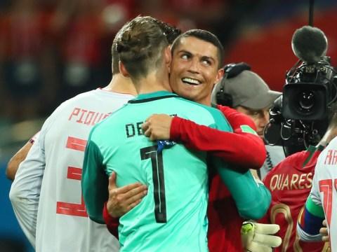 Juan Mata sends class message to David de Gea after howler against Portugal