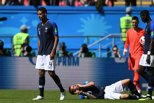 France's Lucas Hernandez admits to 'exaggerating' injury during narrow win over Australia