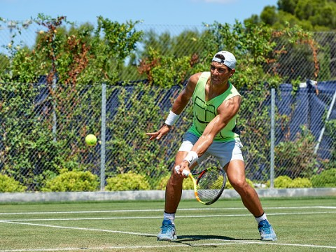 Rafael Nadal and Maria Sharapova line up grass-court matches prior to Wimbledon