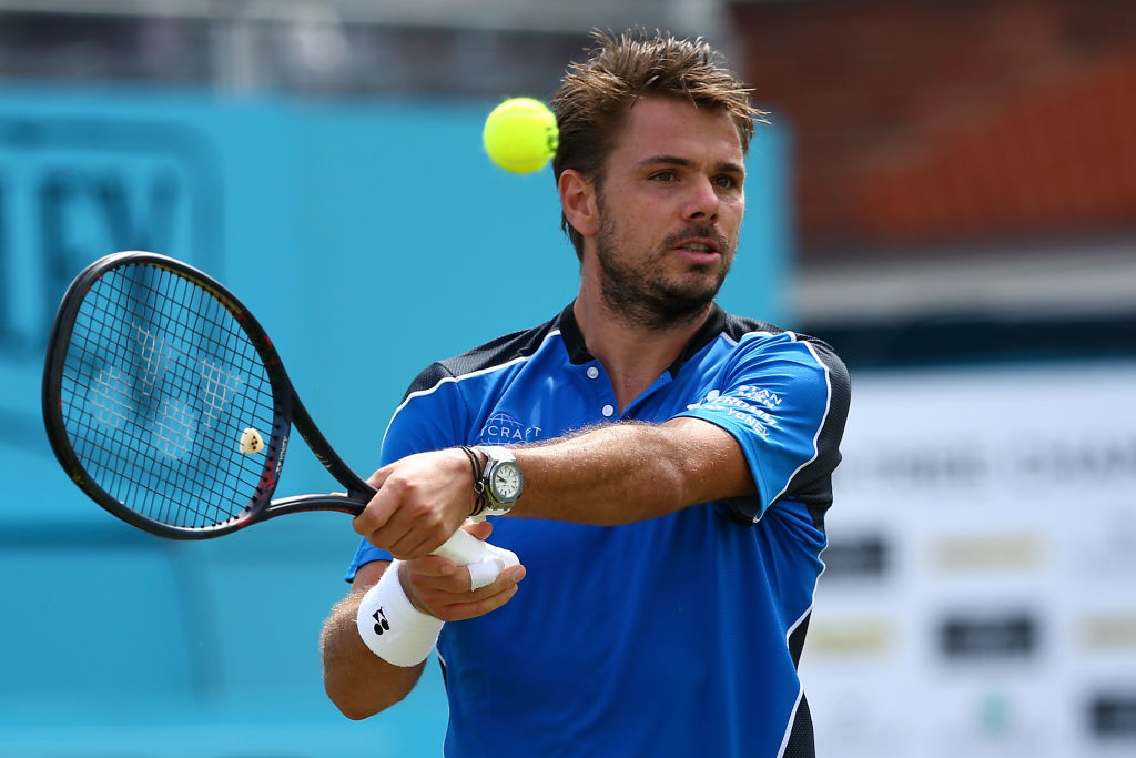 Stan Wawrinka OUT of Queen's after Sam Querrey defeat