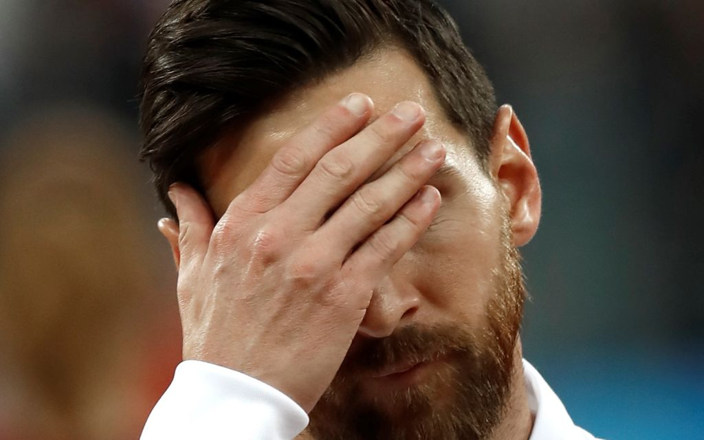 Argentina manager Jorge Sampaoli blames Lionel Messi's poor World Cup performances on his teammates