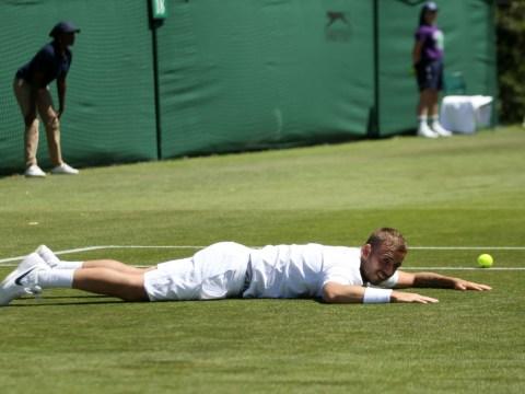 Dan Evans comes through 'f***ing circus' to reach Wimbledon qualifying