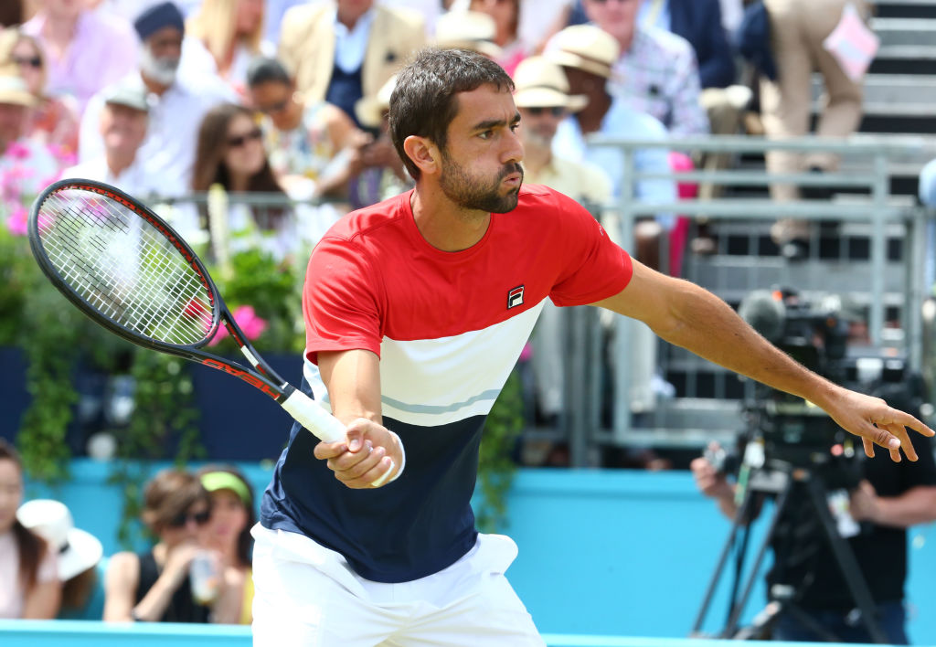 Marin Cilic assesses who the favourite is for Queen's final vs Novak Djokovic