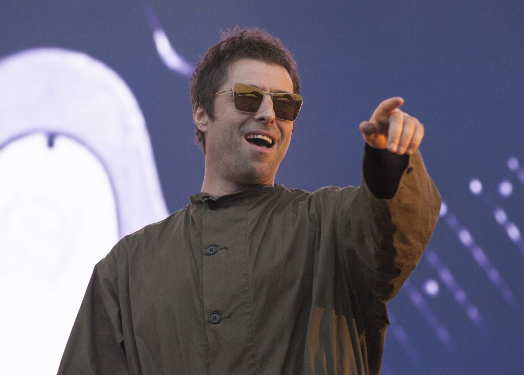 Liam Gallagher teases he's being booked for a Glastonbury headline slot for next year – following 'grabbing girlfriend' controversy