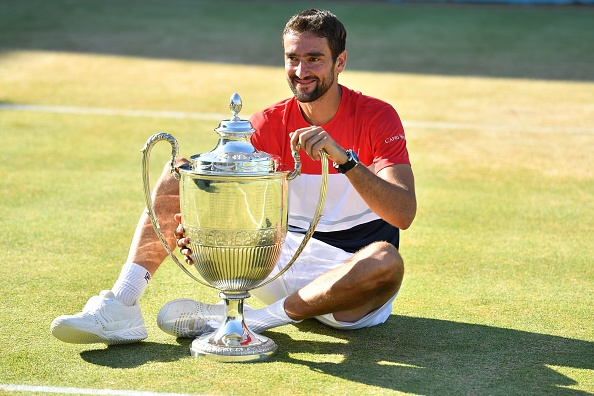 Marin Cilic saves match point to down Novak Djokovic and win Queen's