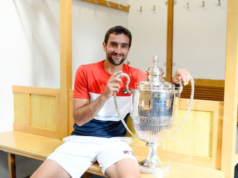 Marin Cilic delivers warning to Roger Federer after Queen's title