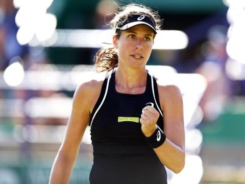 Johanna Konta issues defiant statement of intent for Wimbledon