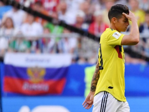 Colombia 'extremely concerned' over James Rodriguez injury ahead of England clash
