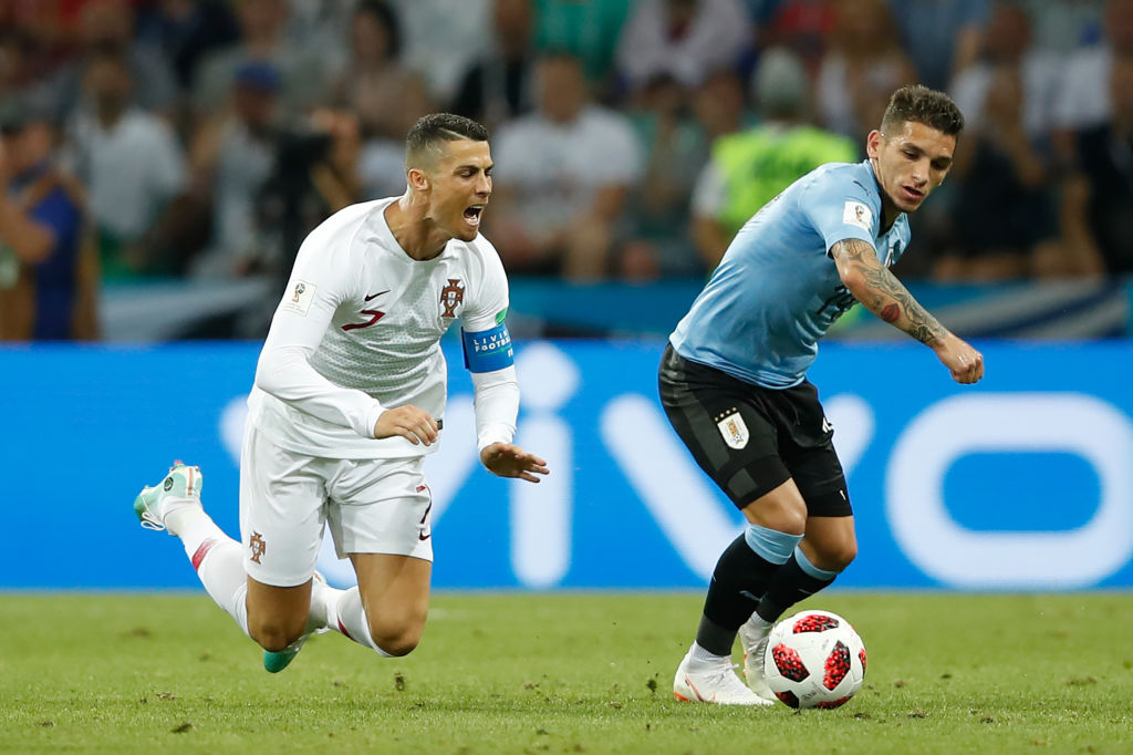 Arsenal fans rave about Lucas Torreira after he floors Cristiano Ronaldo