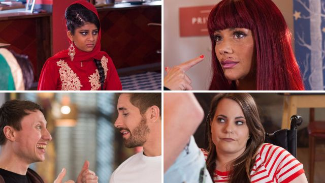 10 Hollyoaks spoilers: Misbah attacked, Milo's romance hopes and James' accusation