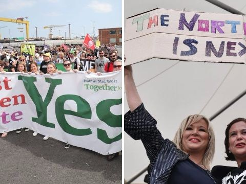 Sinn Fein vote to change abortion law in Northern Ireland