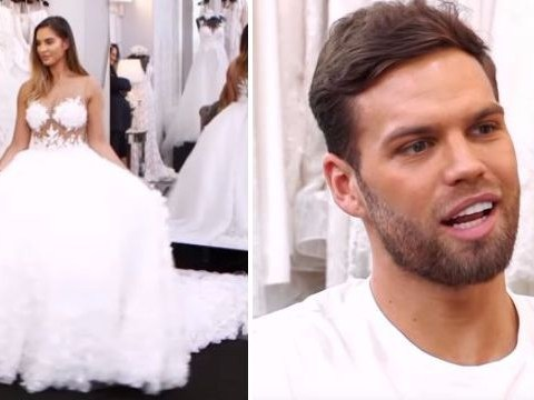 Jess Shears takes Dom Lever dress shopping in Say Yes to the Dress – and it's a disaster