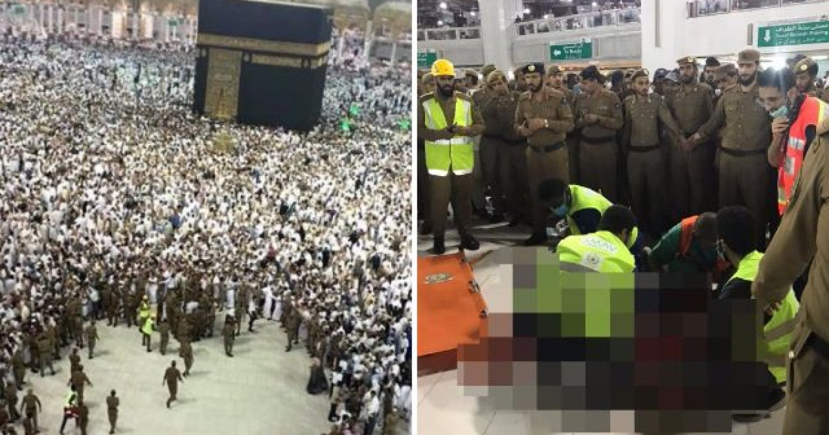 Man leaps to his death from the Great Mosque of Mecca | Metro News