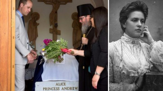 Who was Princess Alice, where is her grave, how is Prince