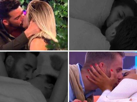 Love Island's Josh and Kaz are one of six pairs who share a kiss – as Georgia stays loyal