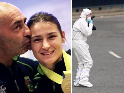 Gold medallist Katie Taylor's dad shot as gunman kills man at boxing club