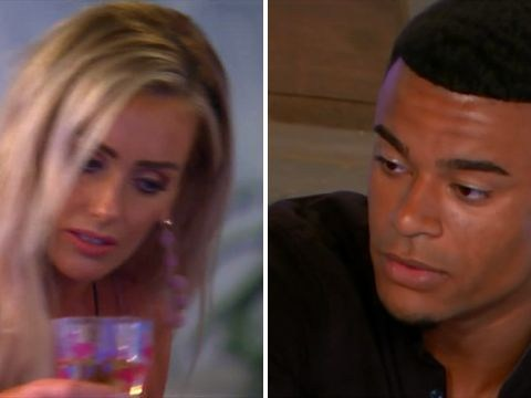 Love Island's Wes and Laura are on the rocks as he tells her 'We're not a couple'