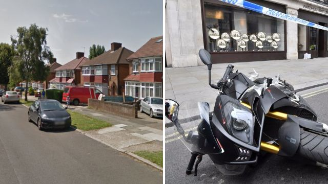 Moped gang leave woman fighting for life after punching her for her phone