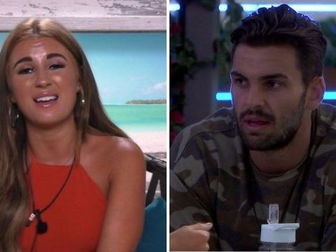 Love Island heats up as Dani Dyer calls Adam out for his wandering eye after Rosie is left in tears