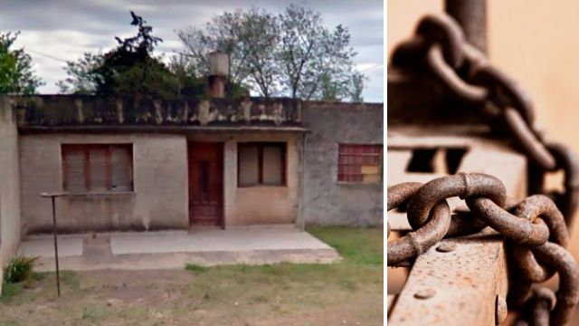 Woman 'chained naked to bed for 20 years because she got a boyfriend'