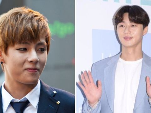 BTS's V trolls actor pal Park Seo Joon with hilarious gift of an abusive coffee truck