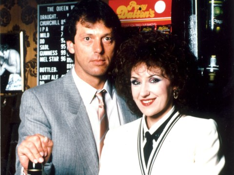 Anita Dobson pays tribute to her EastEnders co-star Leslie Grantham: 'We were good mates'
