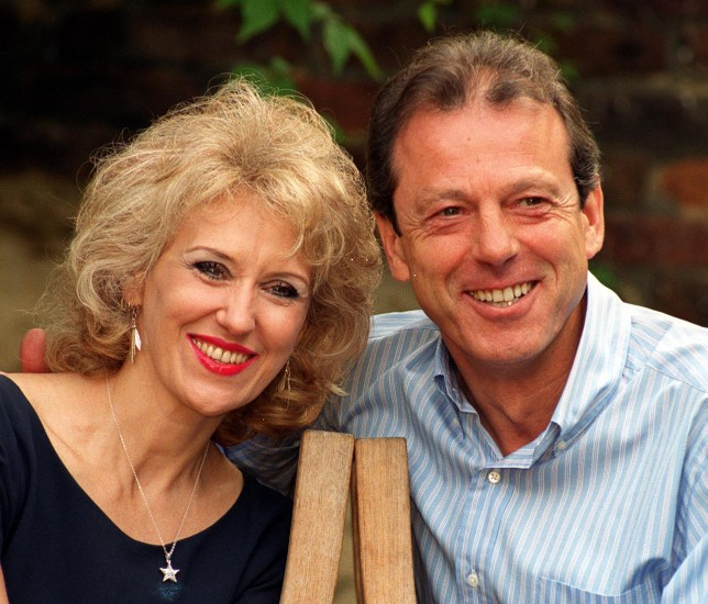 Anita Dobson and Leslie Grantham, who came to fame as pub landlords Den and Angie Watts in BBC-TV soap EastEnders, are to be re-united in a new four-part drama series for transmission on Sky Premier next year. The pair are due to start filming of 'The Stretch', written by Stephen Leather, in which they star as Terry Green a career criminal and Sam, his long-suffering wife, Sam. Photo by Tony Harris/PA...A