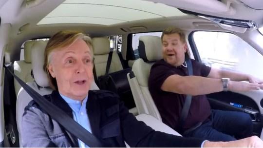 James Corden Teases Paul Mccartney Carpool Karaoke As He Brings Show