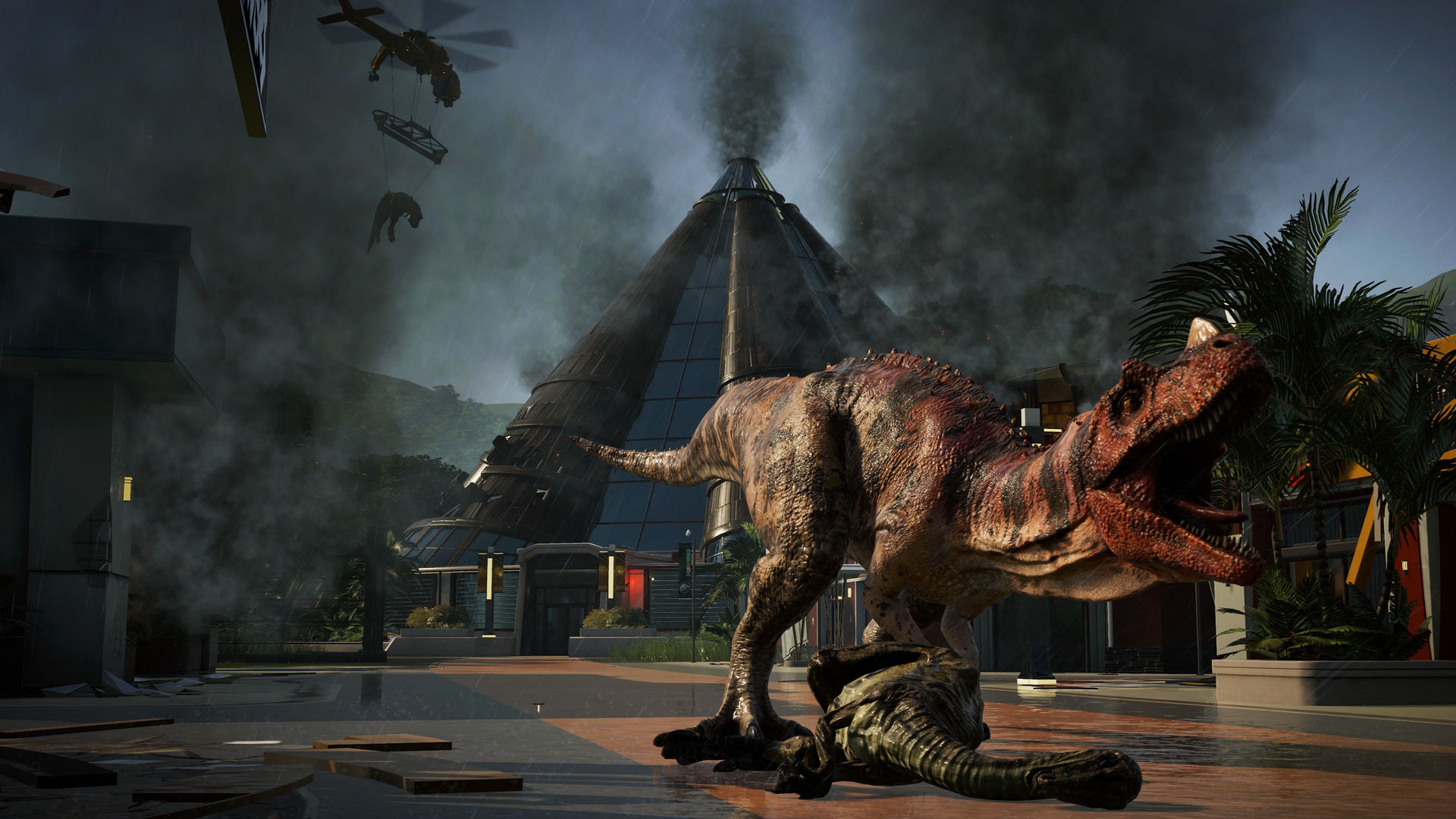 Jurassic World Evolution review – fossil fuel