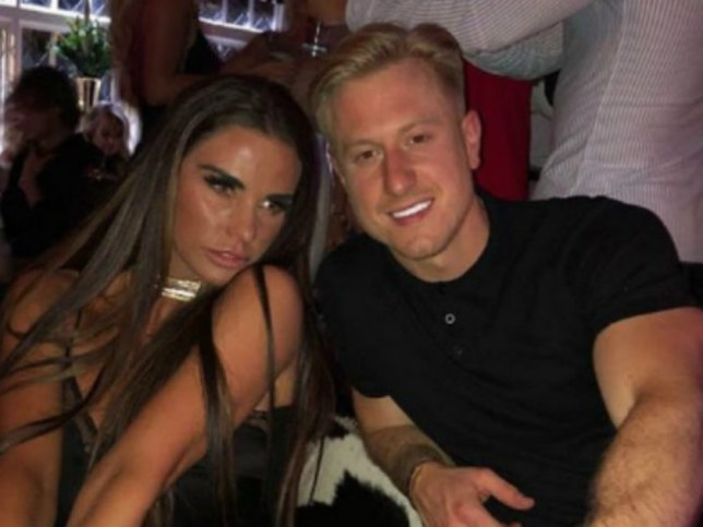 Katie Price and Kris Boyson made their relationship official recently (Picture: Instagram)