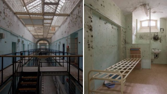 Inside Britain's most haunted prison which held infamous gangster Reggie Kray