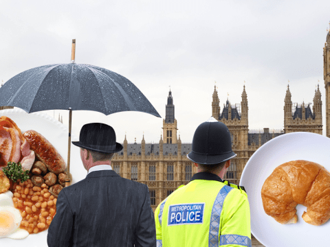 Parliament breakfast wars as 'posh can eat while police and workers wait'