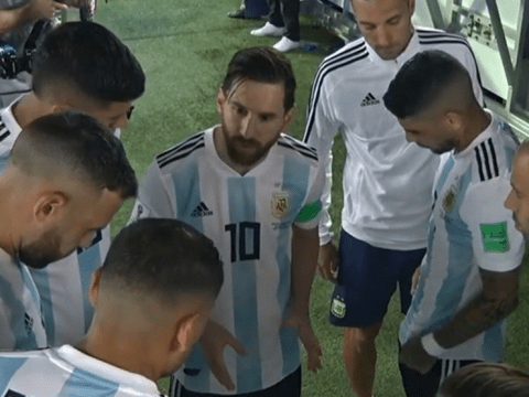 Marcos Rojo reveals what Lionel Messi told Argentina players during half-time talk against Nigeria