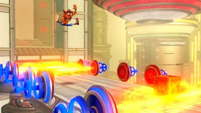 Crash Bandicoot N. Sane Trilogy (NS) - crashing onto Switch