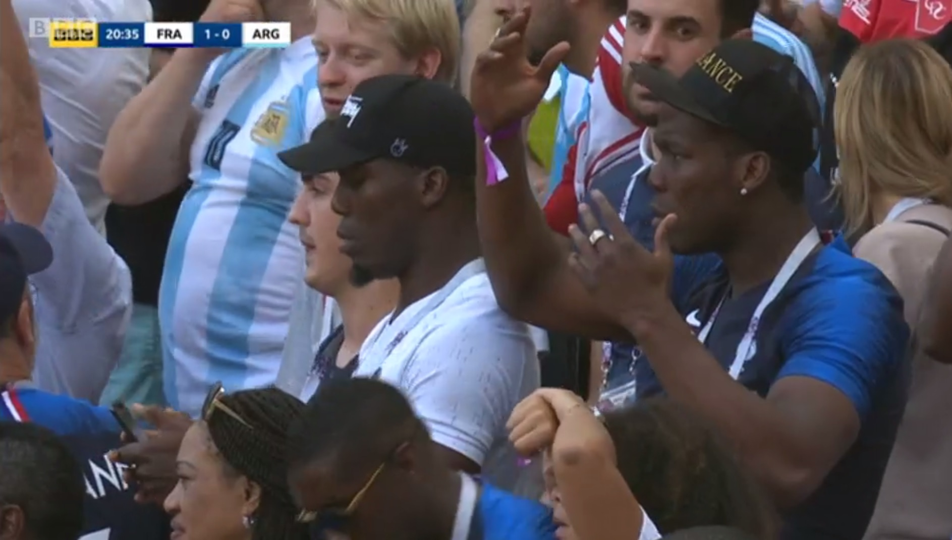 Paul Pogba's brothers unimpressed with his terrible free-kick in France vs Argentina