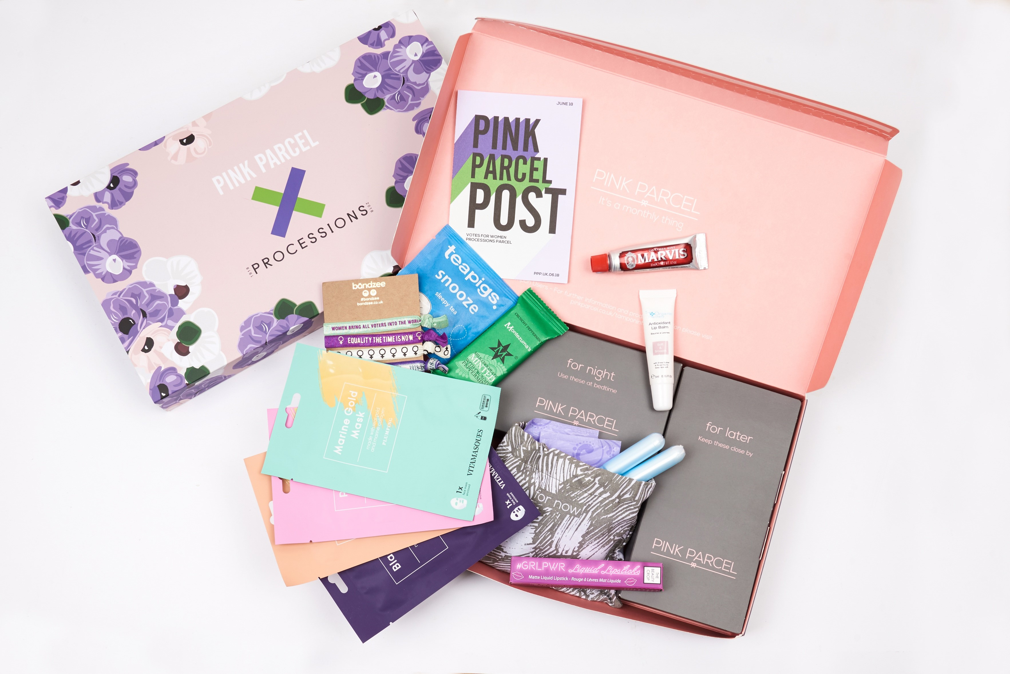 Pink Parcel will deliver period care packages to your door and donate all unused items to those living in period poverty