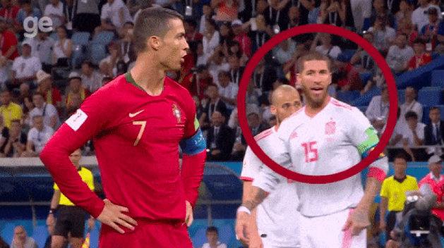 Sergio Ramos told David de Gea to dive the WRONG way for Cristiano Ronaldo's penalty