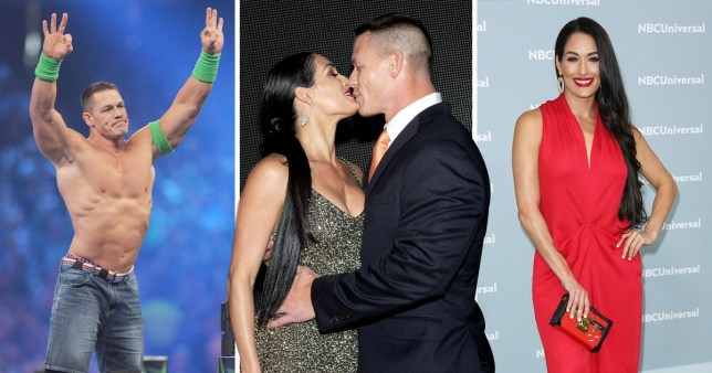 John Cena and N Bella are back on... working on things
