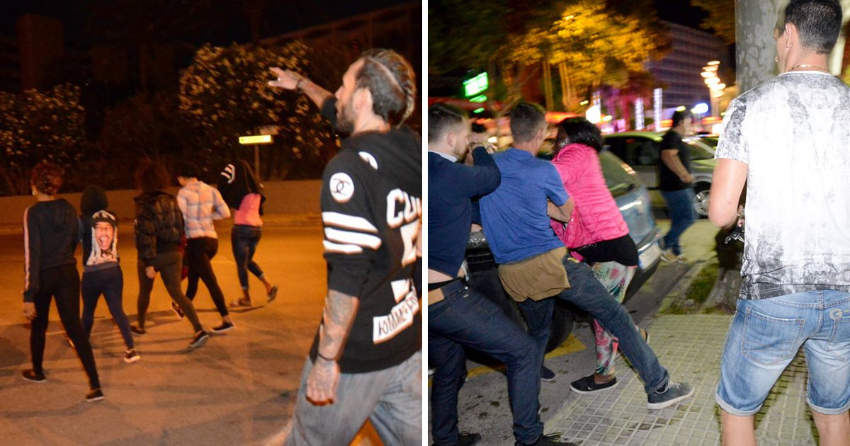Brits accused of hate crimes after protests against prostitutes in Magaluf