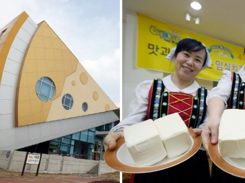 There's a cheese theme park in South Korea
