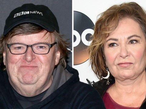 Michael Moore blames Roseanne Barr's racist comments on 'madness' and 'downward spiral'