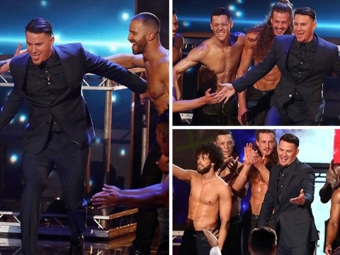 Britain's Got Talent fans thirst over Channing Tatum's shock appearance during sexy Magic Mike routine