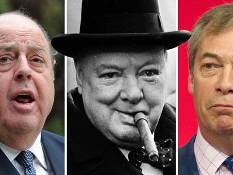 Winston Churchill's grandson calls Nigel Farage an 'absolute t**t'