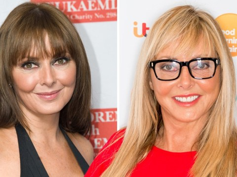Carol Vorderman, 57, gets IDed for booze and cashier makes the 'old bird' very happy