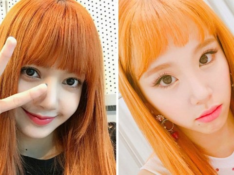Fan war erupts between TWICE and Black Pink over Chaeyoung's orange hair