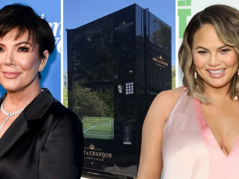 Kris Jenner just got a champagne vending machine and now we want one too